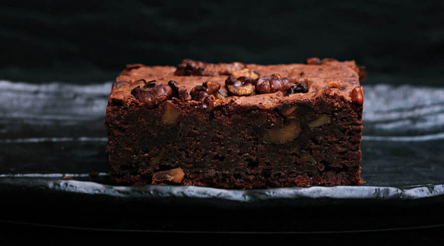 Double-choc brownies